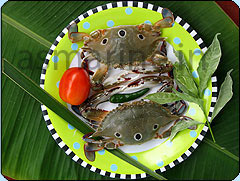 how to cook half swimming crab
